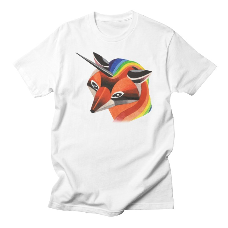 Unifox Men's T-shirt by Sashaunisex's Shop