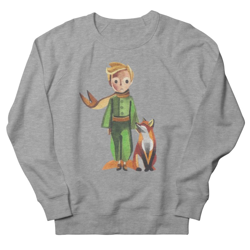 The Little Prince in Men's Sweatshirt Heather Graphite by Sashaunisex's Shop