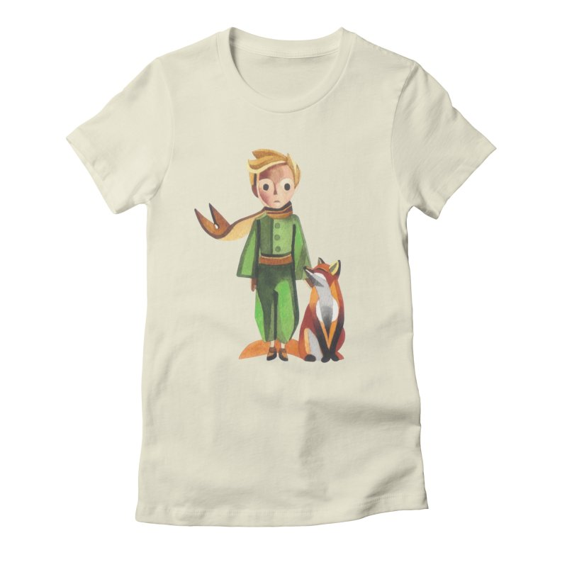 The Little Prince Women's Fitted T-Shirt by Sashaunisex's Shop