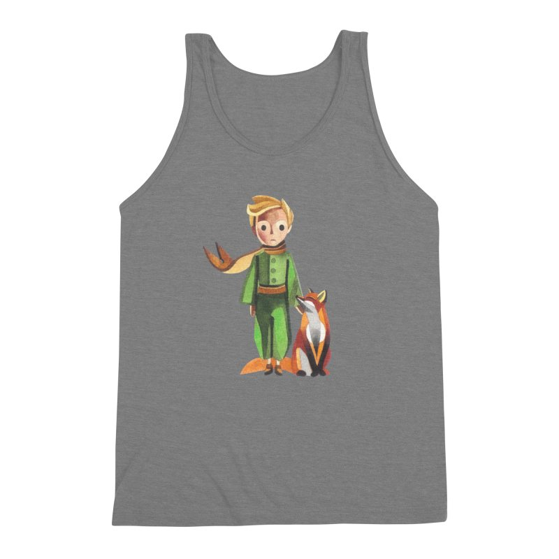 The Little Prince Men's Triblend Tank by Sashaunisex's Shop