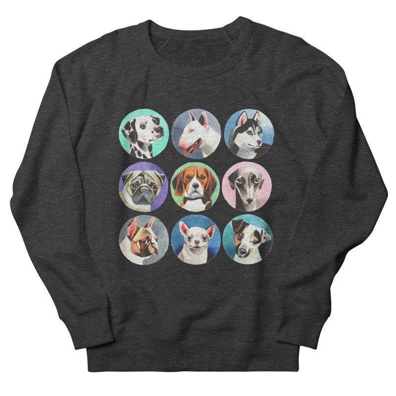 Dogs Women's Sweatshirt by Sashaunisex's Shop