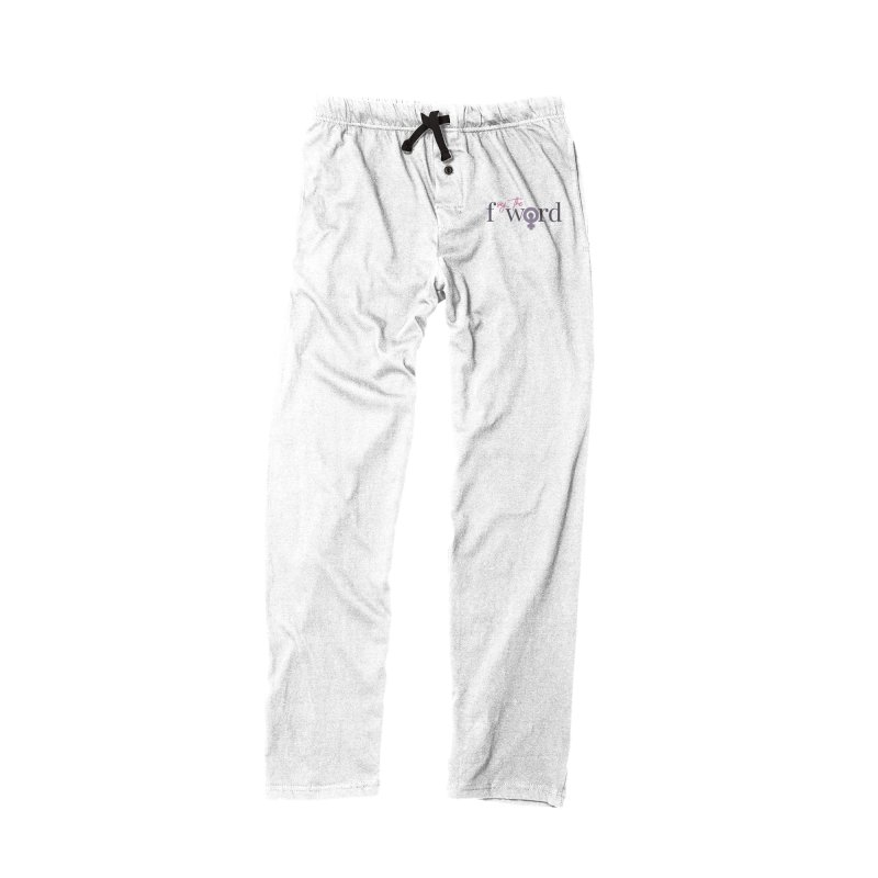 SayTheFWord in Women's Lounge Pants Bottoms Black by Say The F Word