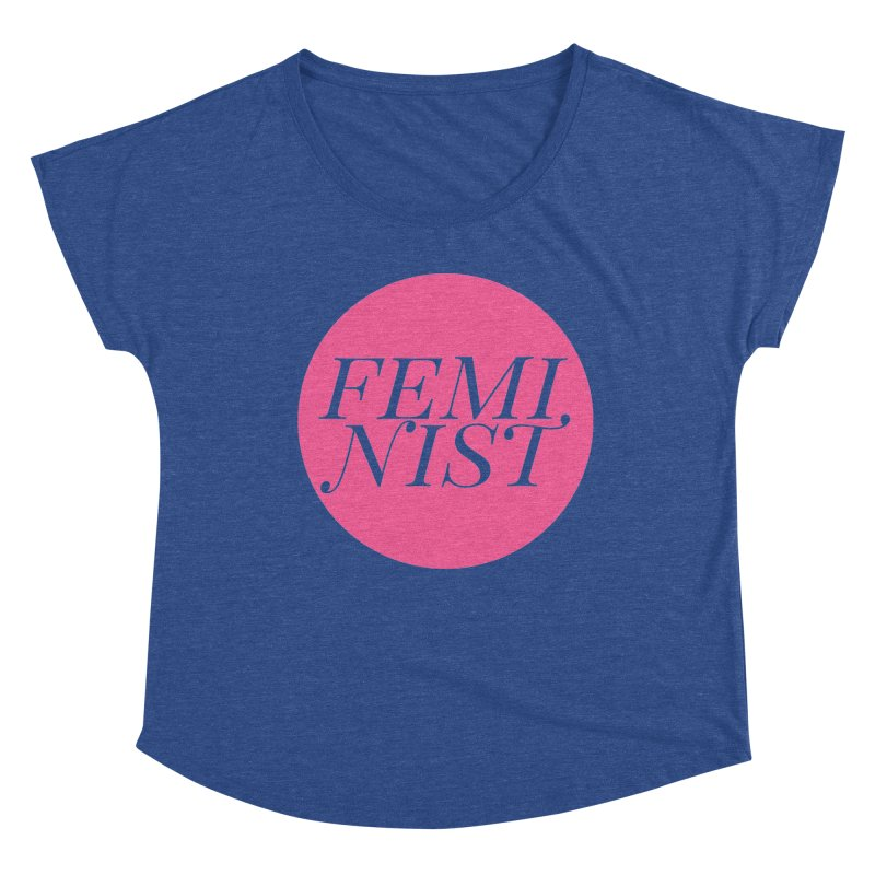 Loud Feminist Women's Scoop Neck by Say The F Word