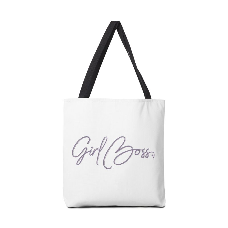 Girl Boss Accessories Tote Bag Bag by Say The F Word