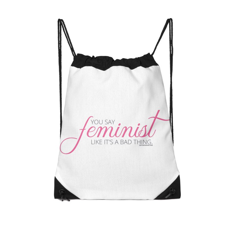 Say The F Word Accessories Bag by Say The F Word