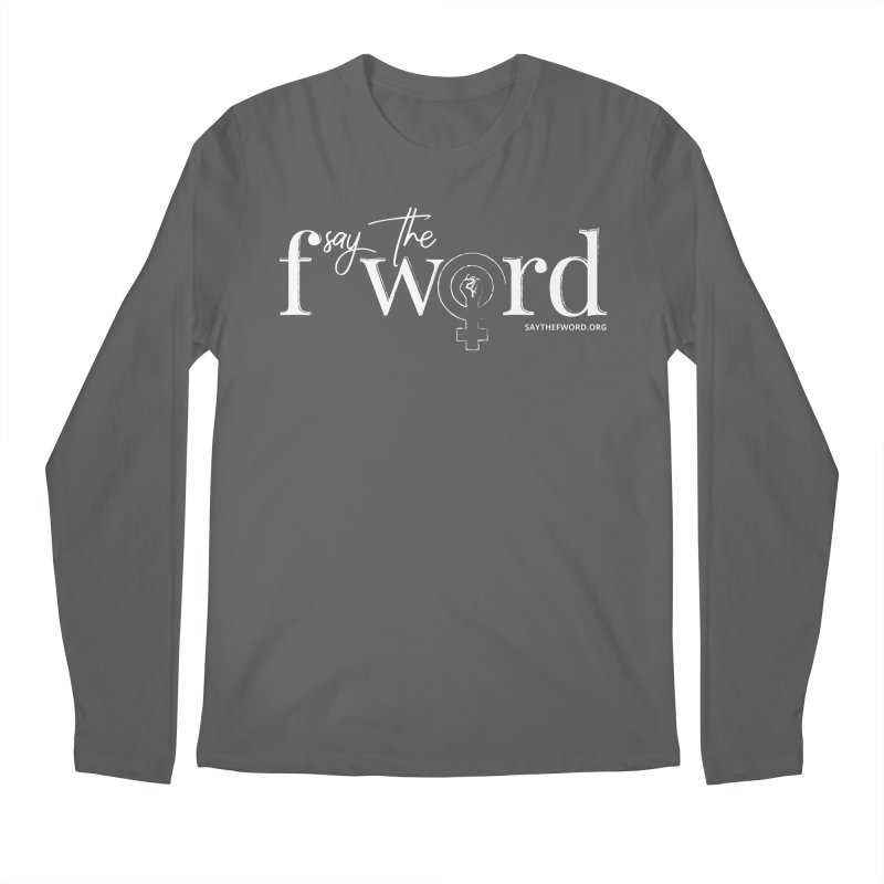 STFW Logo Men's Regular Longsleeve T-Shirt by Say The F Word