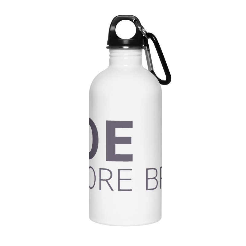 Roe Before Bros Accessories Water Bottle by Say The F Word