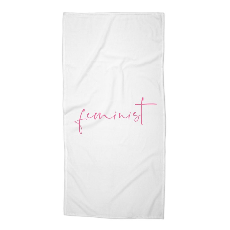 Feminist Accessories Beach Towel by Say The F Word