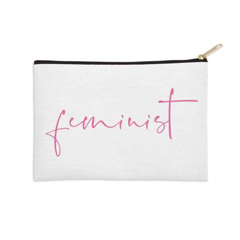 Feminist Accessories Zip Pouch by Say The F Word