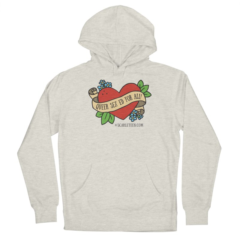 Queer Sex Ed For All! Men's Pullover Hoody by Scarleteen's Threadless Shop