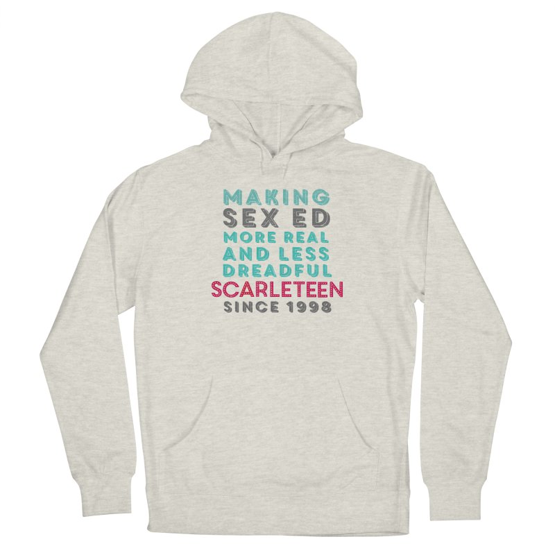 Making Sex Ed More Real and Less Dreadful Since 1998 Women's Pullover Hoody by Scarleteen's Threadless Shop