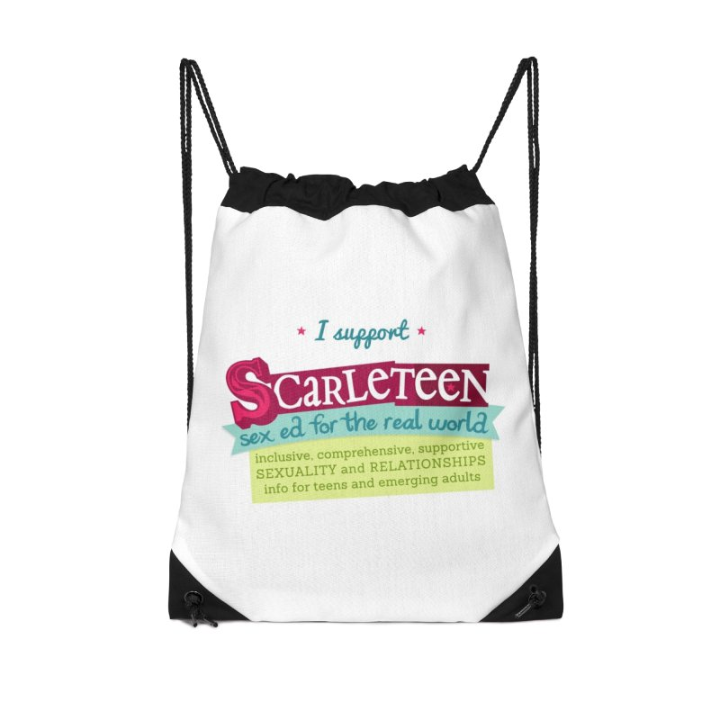 I Support Scarleteen Accessories Bag by Scarleteen's Threadless Shop
