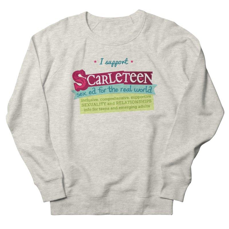 I Support Scarleteen Men's Sweatshirt by Scarleteen's Threadless Shop