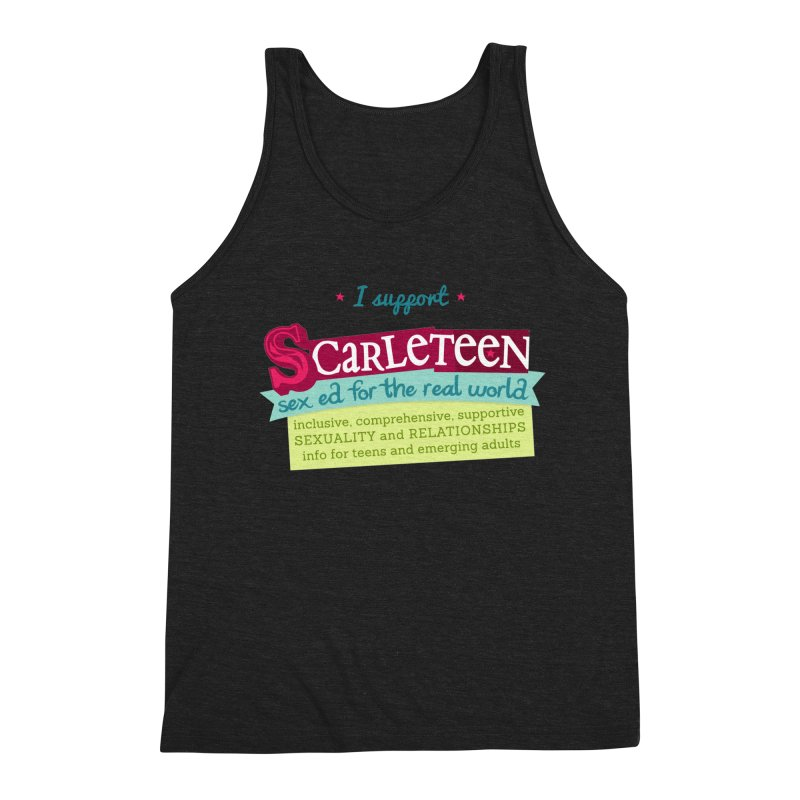 I Support Scarleteen Men's Tank by Scarleteen's Threadless Shop