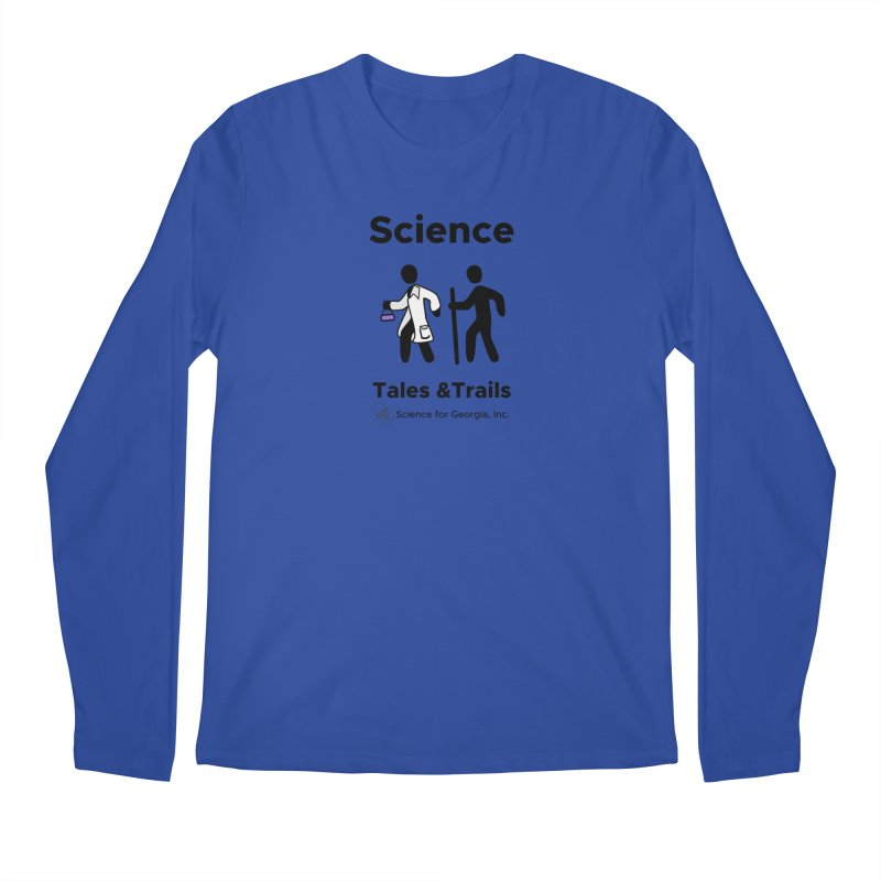 Science Tales & Trails Men's Regular Longsleeve T-Shirt by Science for Georgia's Shop