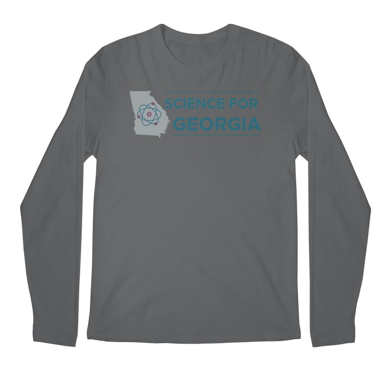 Science for Georgia Logo Shirt Men's Regular Longsleeve T-Shirt by Science for Georgia's Shop