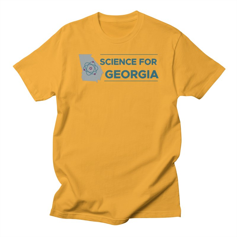 Science for Georgia Logo Shirt Women's Regular Unisex T-Shirt by Science for Georgia's Shop