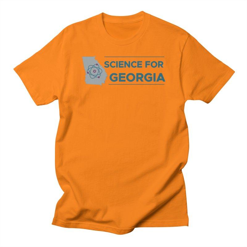 Science for Georgia Logo Shirt Men's Regular T-Shirt by Science for Georgia's Shop