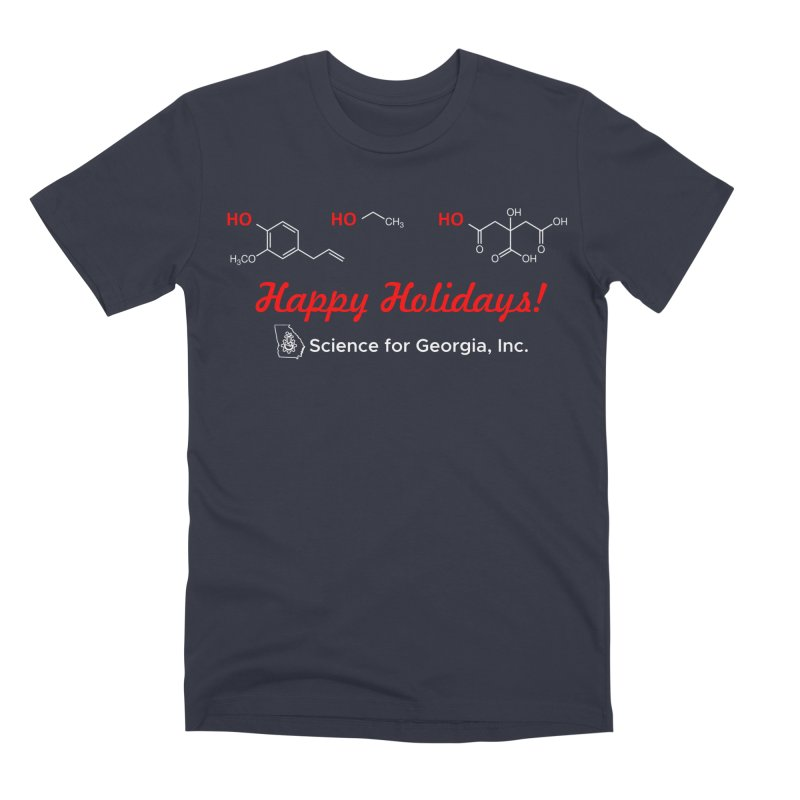 Ho Ho Holiday Shirt (Limited Edition) Men's Premium T-Shirt by Science for Georgia's Shop