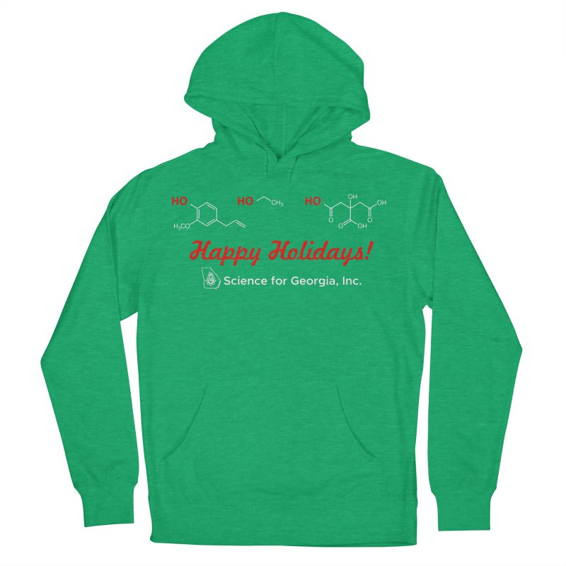 Ho Ho Holiday Shirt (Limited Edition) Men's French Terry Pullover Hoody by Science for Georgia's Shop