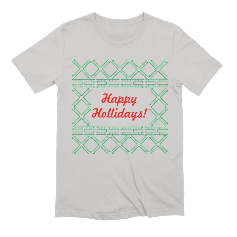 Happy Hollidays! (Limited Edition) Men's Extra Soft T-Shirt by Science for Georgia's Shop