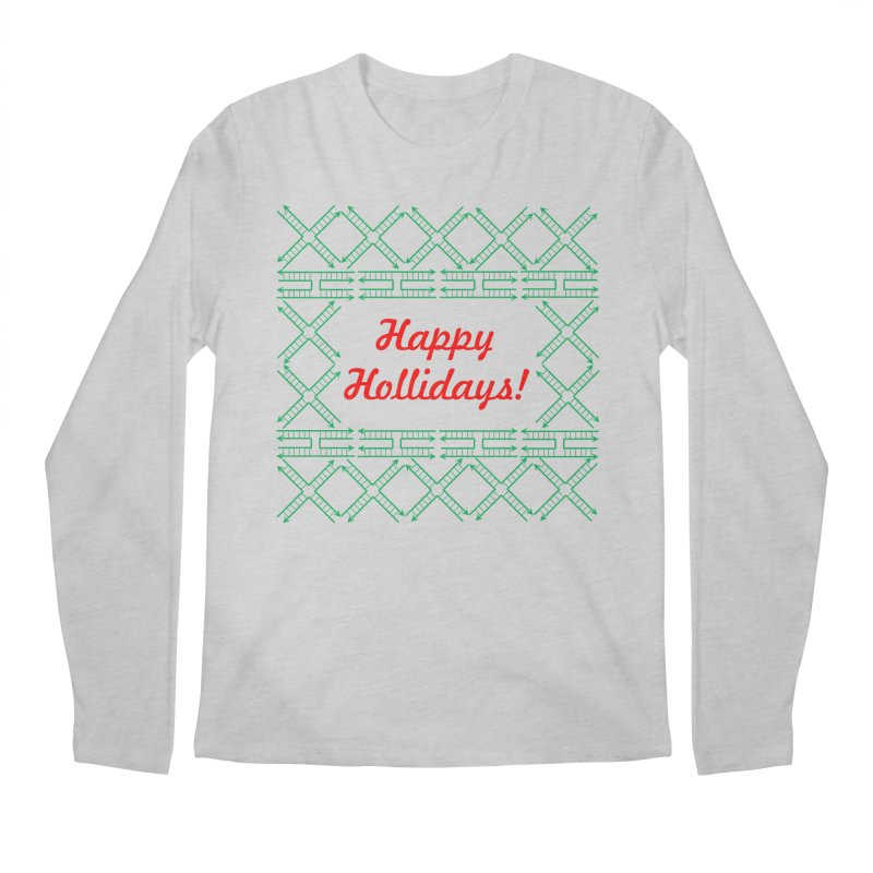 Happy Hollidays! (Limited Edition) Men's Regular Longsleeve T-Shirt by Science for Georgia's Shop