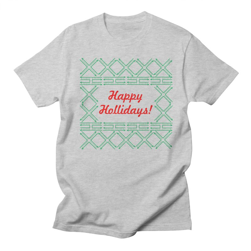 Happy Hollidays! (Limited Edition) Men's Regular T-Shirt by Science for Georgia's Shop
