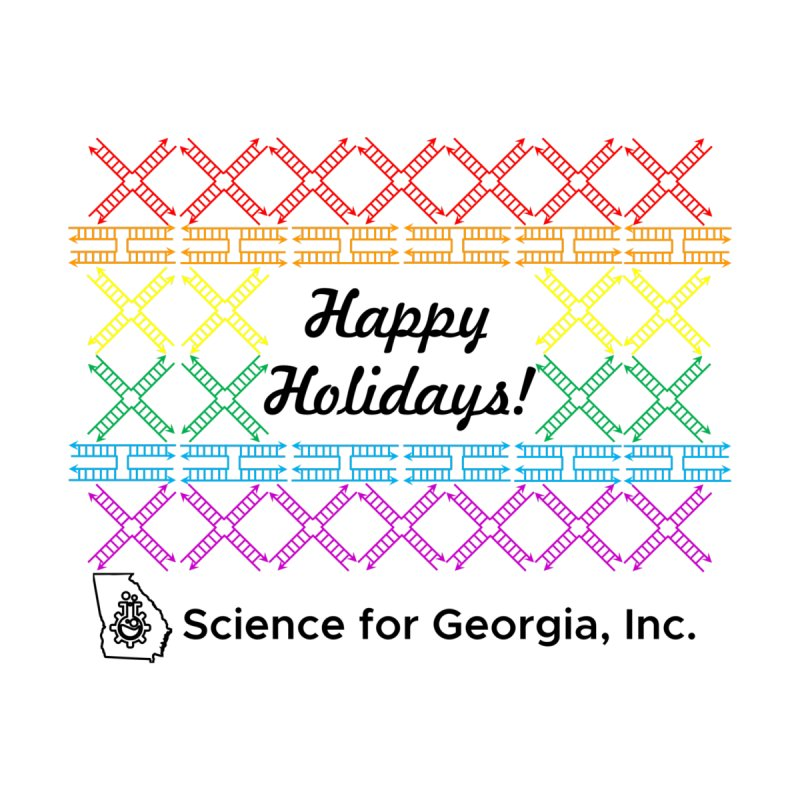 Happy Holidays! (Limited Edition) by Science for Georgia's Shop