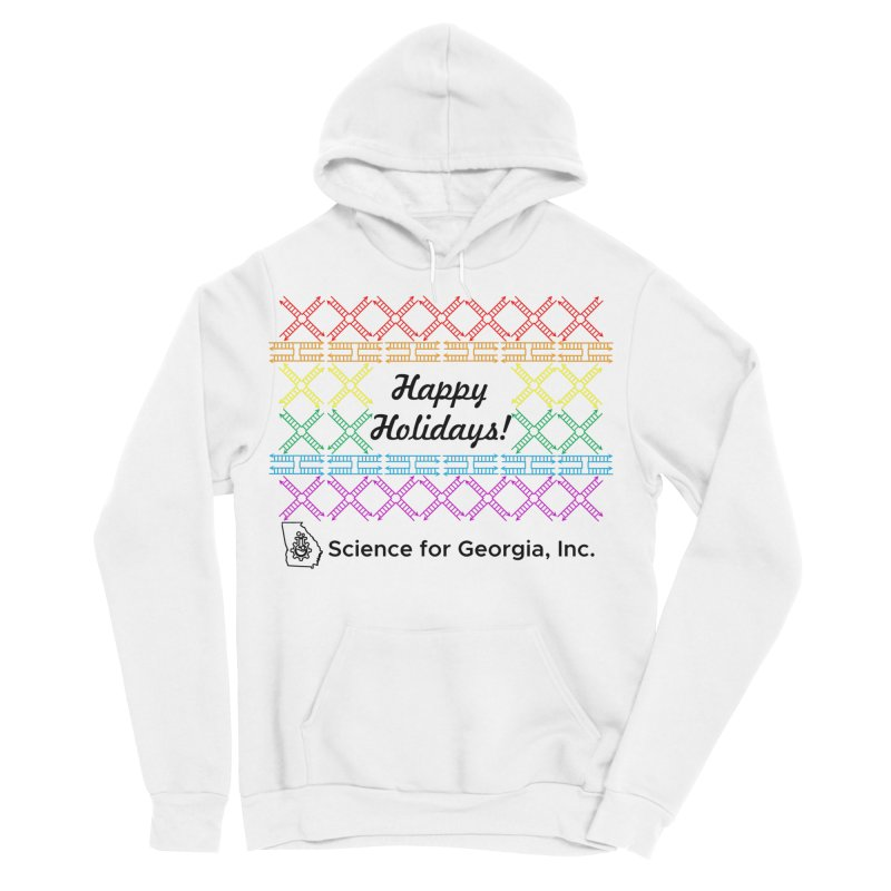 Happy Holidays! (Limited Edition) Women's Sponge Fleece Pullover Hoody by Science for Georgia's Shop