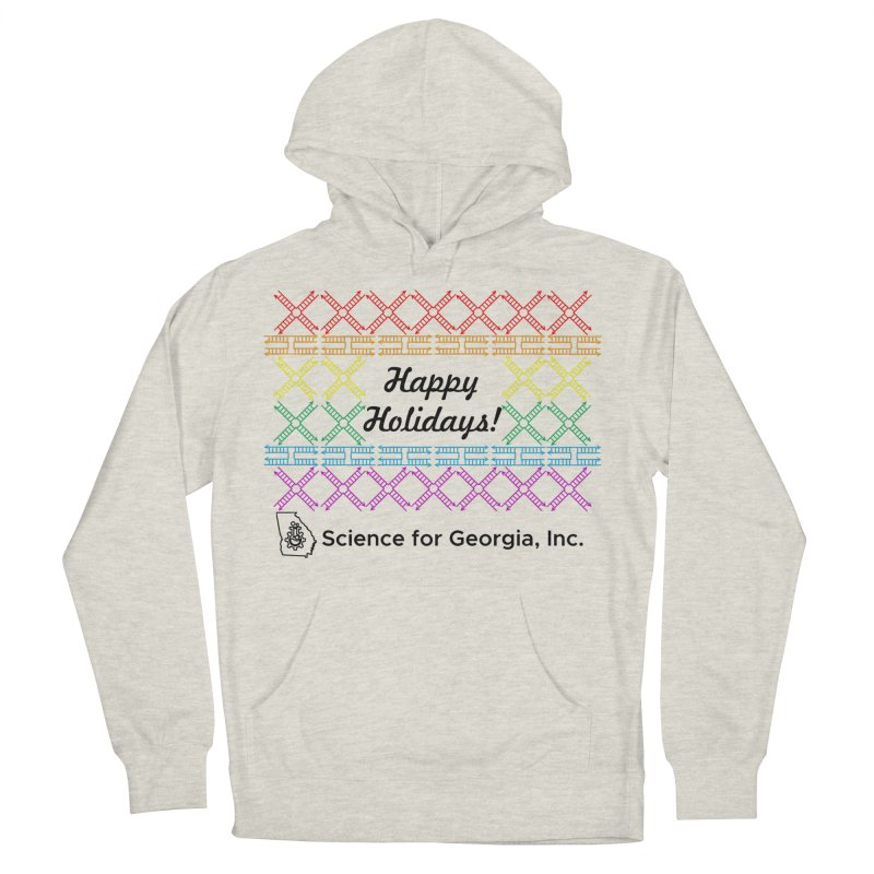 Happy Holidays! (Limited Edition) Women's French Terry Pullover Hoody by Science for Georgia's Shop