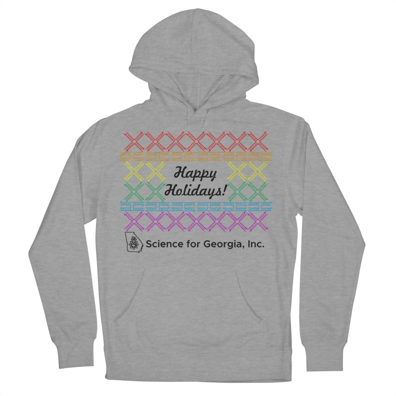 Happy Holidays! (Limited Edition) Men's French Terry Pullover Hoody by Science for Georgia's Shop