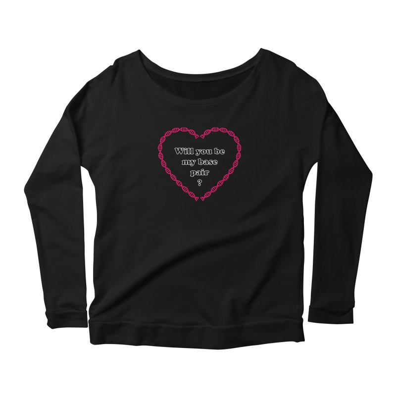 Perfect Pair Women's Scoop Neck Longsleeve T-Shirt by Science for Georgia's Shop