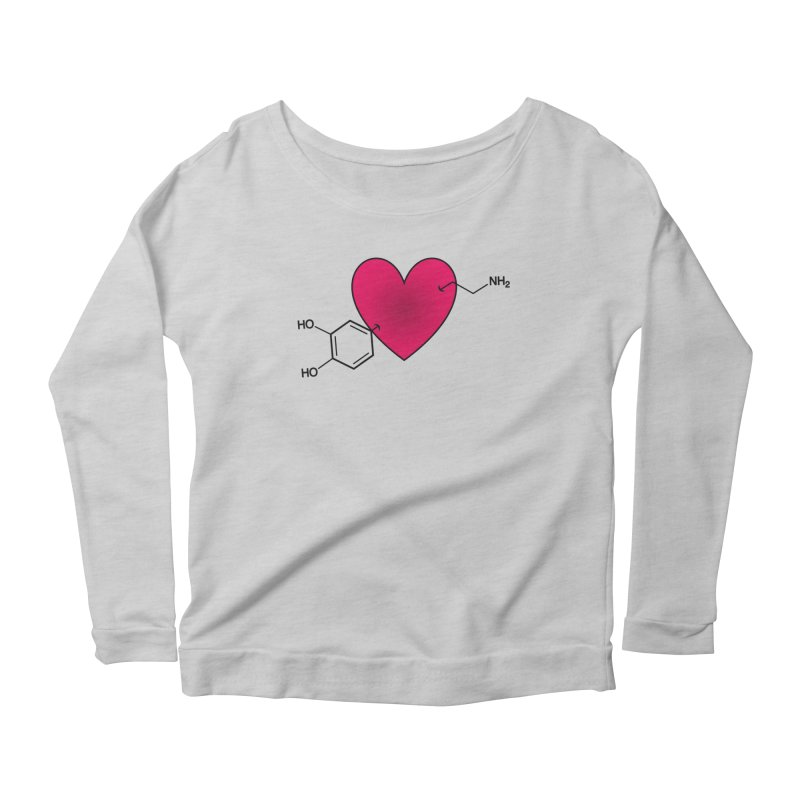 Love is Dope Women's Scoop Neck Longsleeve T-Shirt by Science for Georgia's Shop