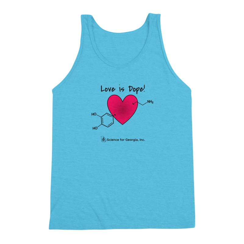 Love is Dope Men's Triblend Tank by Science for Georgia's Shop
