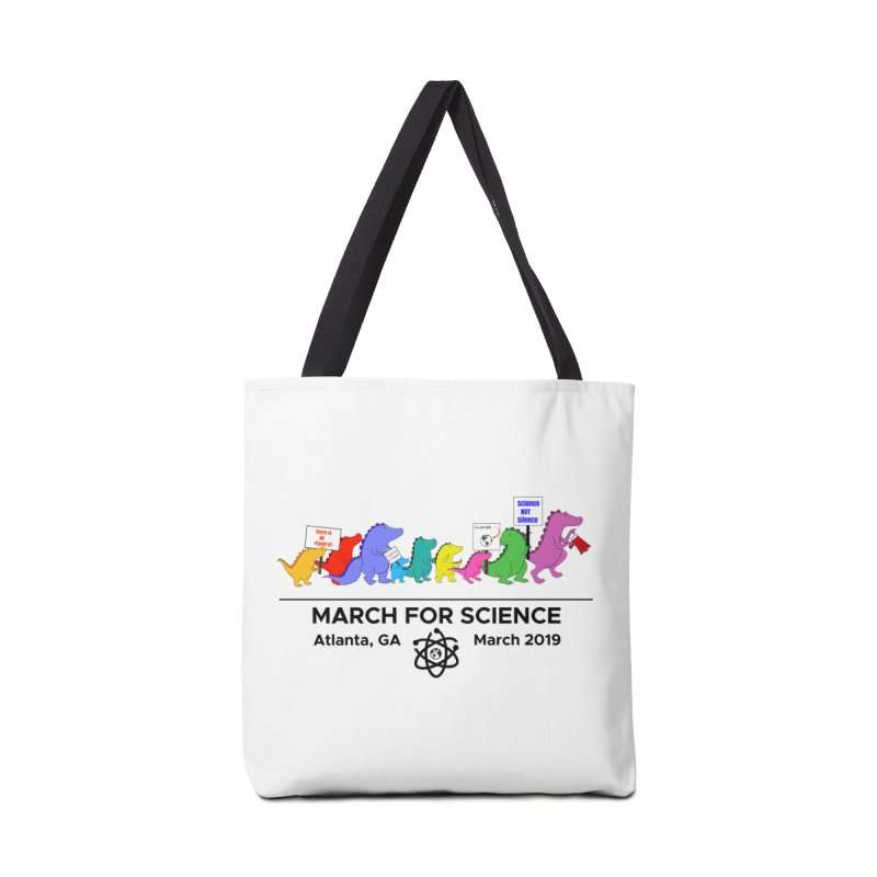 March of the Dinosaurs Accessories Tote Bag Bag by Science for Georgia's Shop
