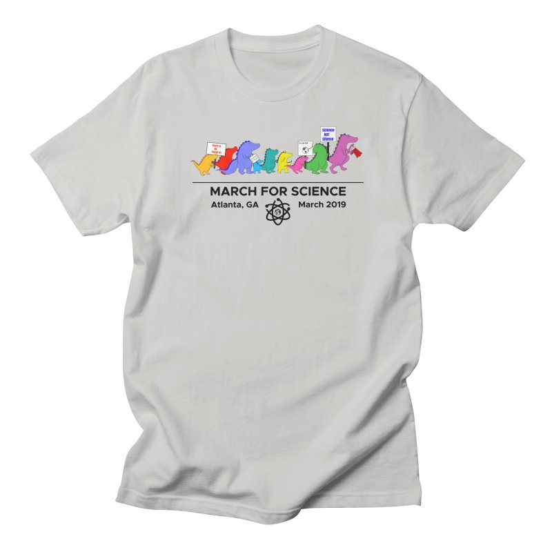 March of the Dinosaurs Women's Regular Unisex T-Shirt by Science for Georgia's Shop