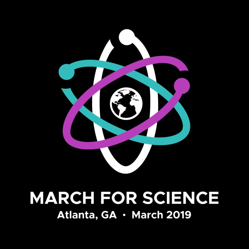 March for Science Atlanta Logo Shirt by Science for Georgia's Shop