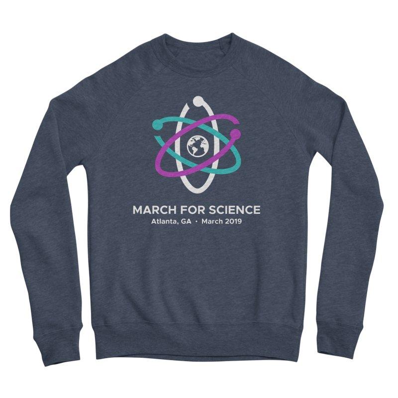 March for Science Atlanta Logo Shirt Women's Sponge Fleece Sweatshirt by Science for Georgia's Shop