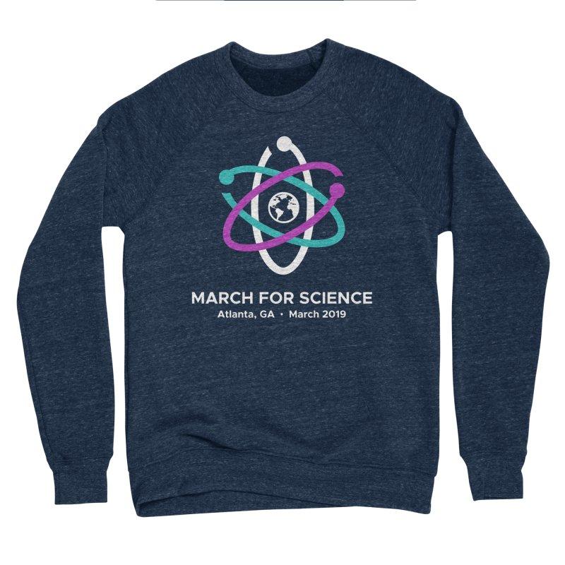 March for Science Atlanta Logo Shirt Men's Sponge Fleece Sweatshirt by Science for Georgia's Shop