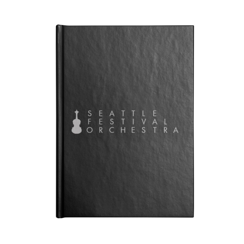 SFO Backpack Accessories Lined Journal Notebook by Seattle Festival Orchestra's Shop