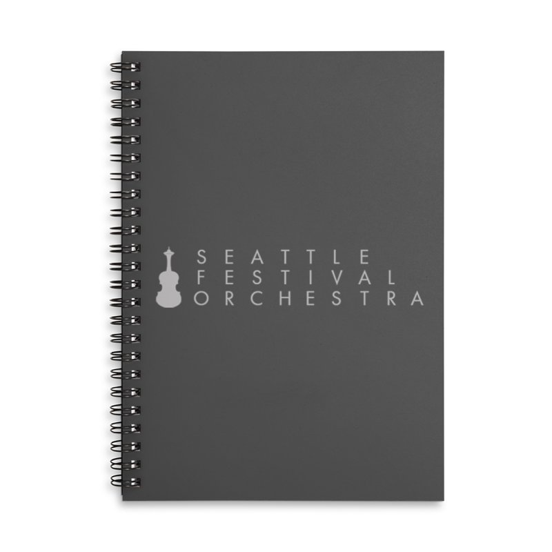 SFO Journal Accessories Lined Spiral Notebook by Seattle Festival Orchestra's Shop