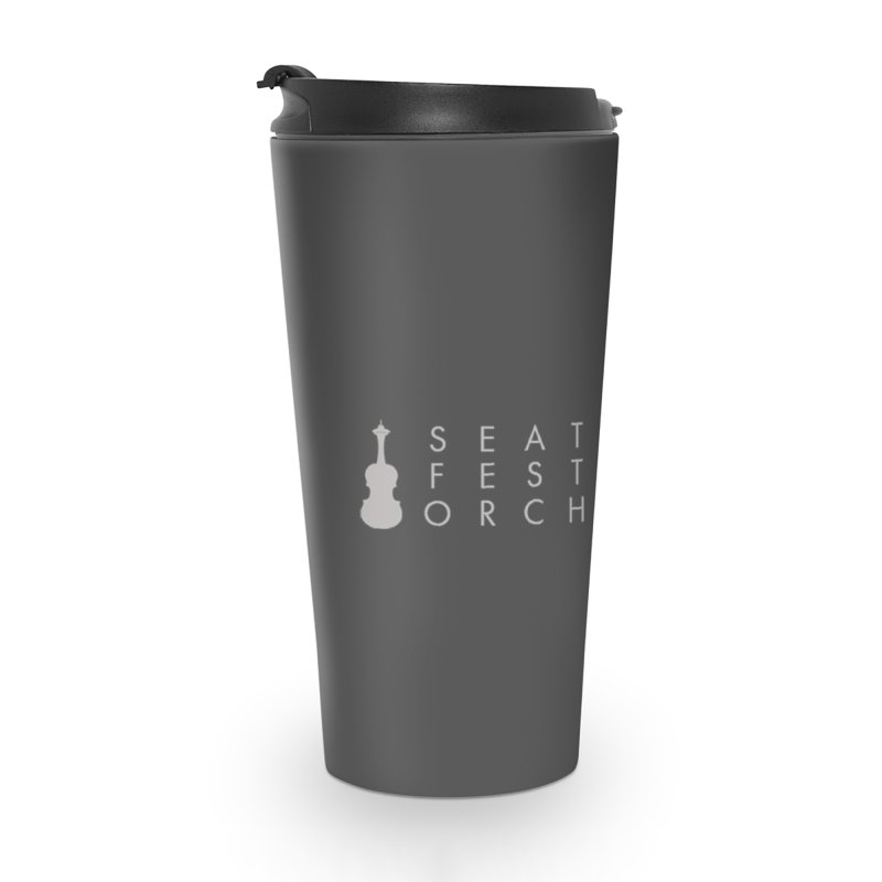 SFO Mugs Accessories Travel Mug by Seattle Festival Orchestra's Shop