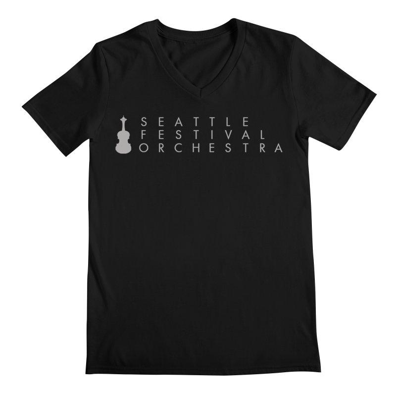 SFO Men Men's Regular V-Neck by Seattle Festival Orchestra's Shop