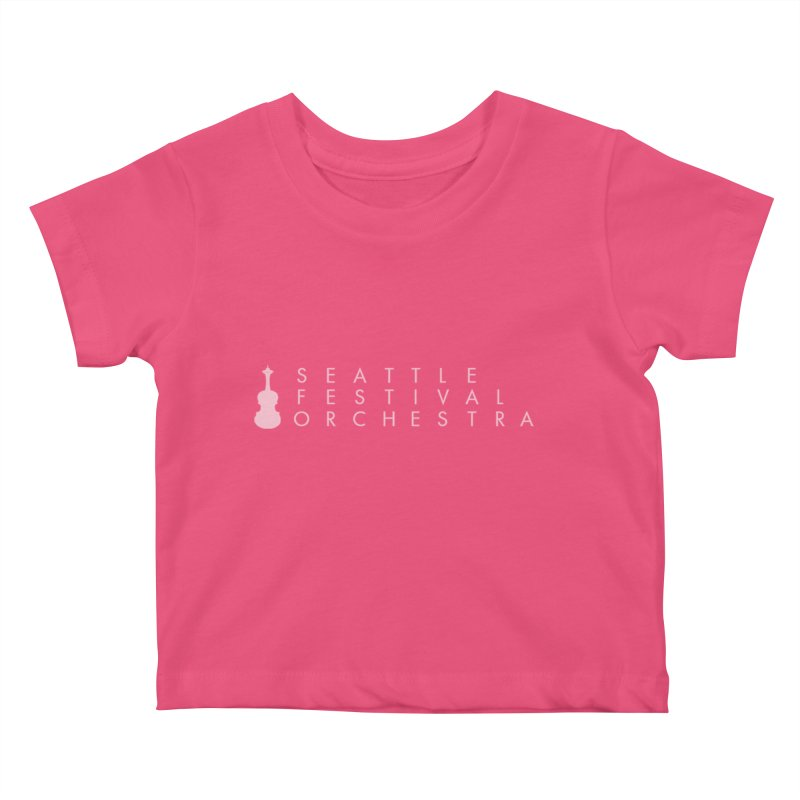 SFO Kids Kids Baby T-Shirt by Seattle Festival Orchestra's Shop