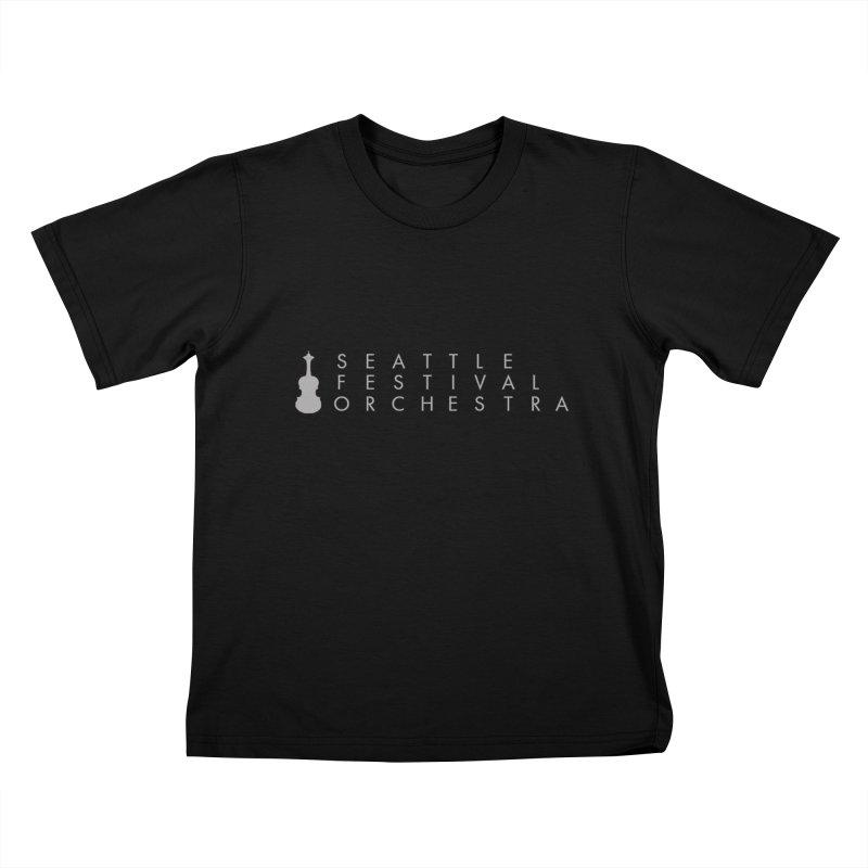 SFO Kids Kids T-Shirt by Seattle Festival Orchestra's Shop