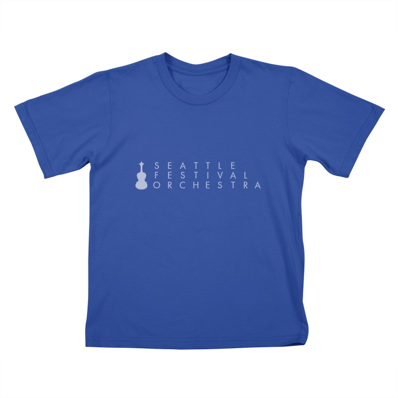SFO Kids Kids T-Shirt by Seattle Festival Orchestra's Shop