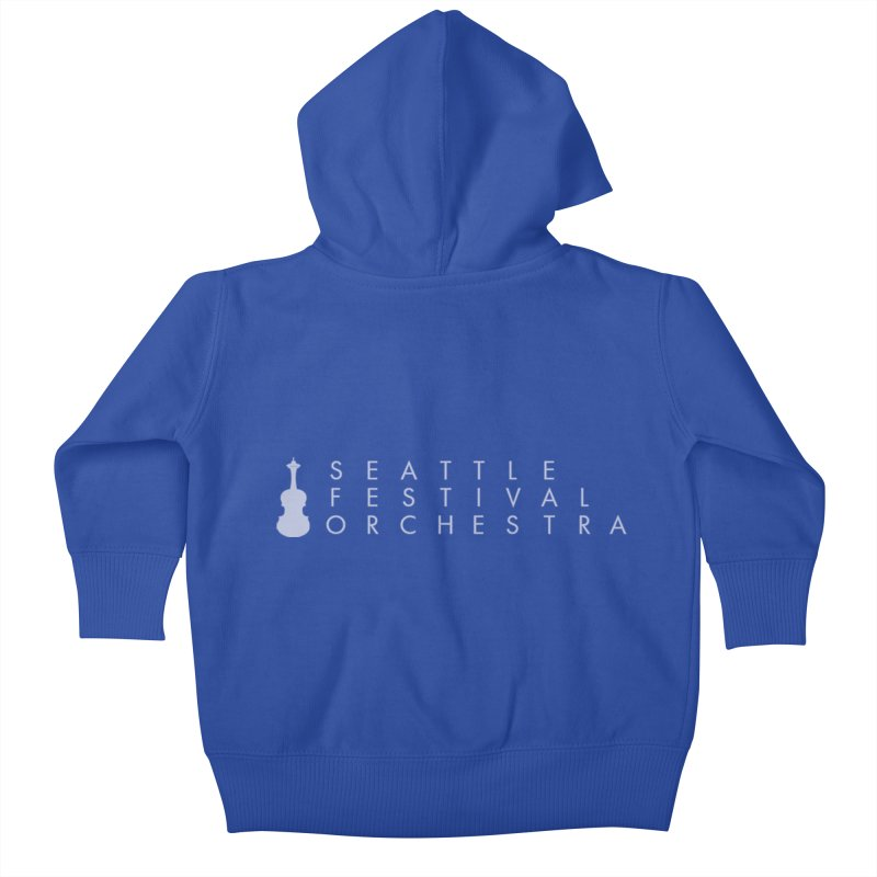 SFO Kids Kids Baby Zip-Up Hoody by Seattle Festival Orchestra's Shop