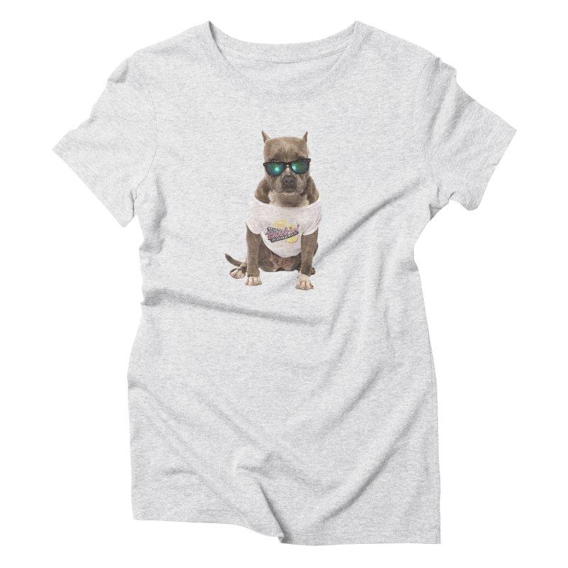 Summer Dog Mustangs T-Shirt by Segovia Tx Duds