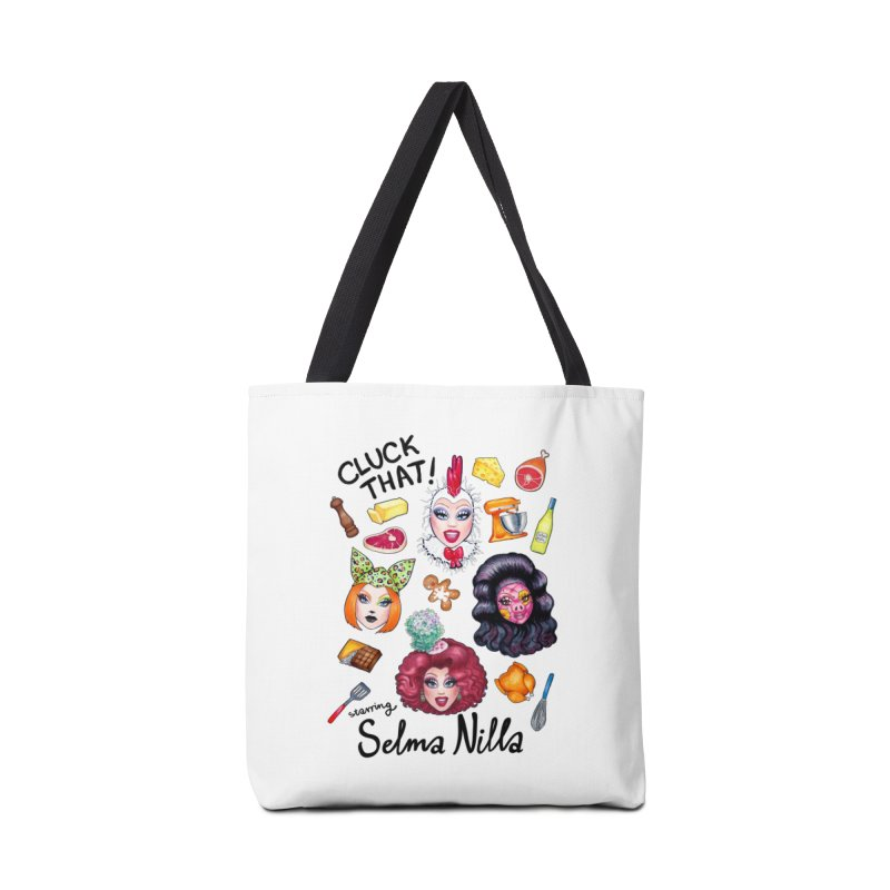 Cluck That! T-Shirts, Tanks and Hoodies Accessories Bag by Selma Nilla's Hen House