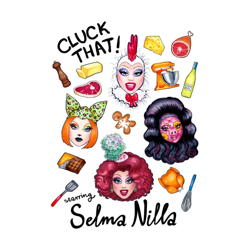 Cluck That! Stickers and Magnets Accessories Sticker by Selma Nilla's Hen House